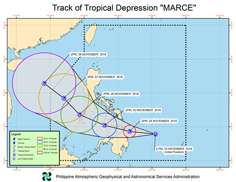 tropical depression marce misamis oriental