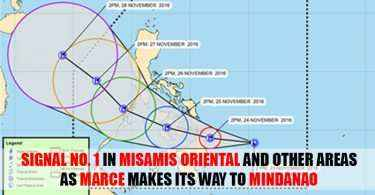 tropical depression marce misamis oriental