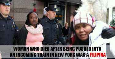 woman pushed ny subway filipina