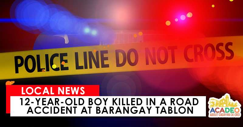 12-year-old Boy Killed in a Road Accident