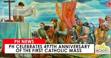 497th anniversary of the first mass in philippines