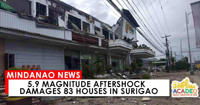 Aftershock in Surigao