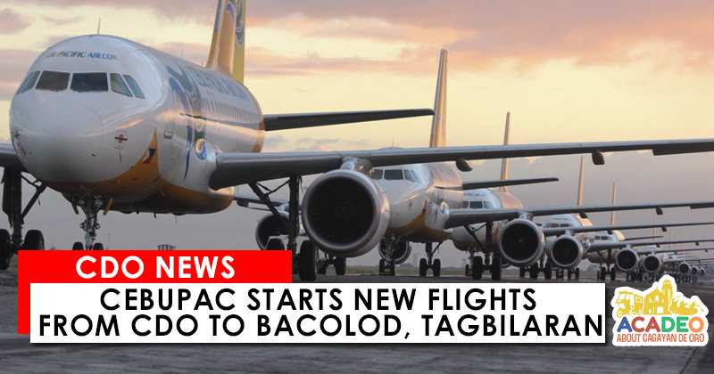 cebupac flights to cdo