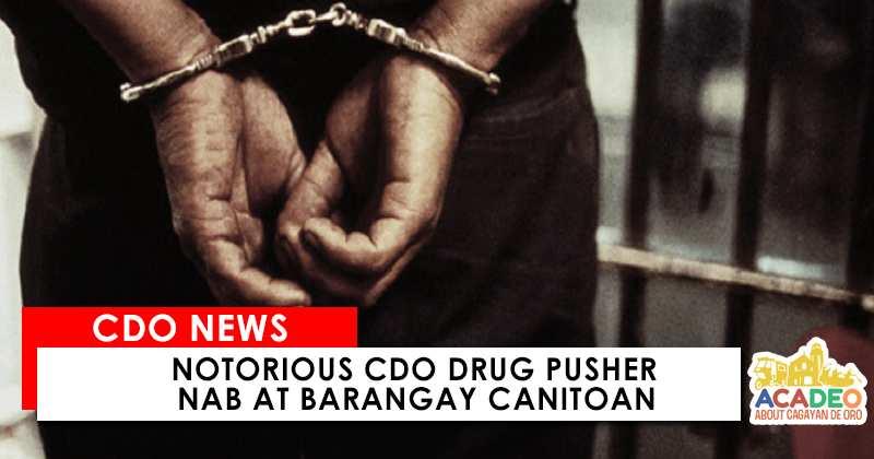 Drug Pusher Nab Barangay Canitoan CDO