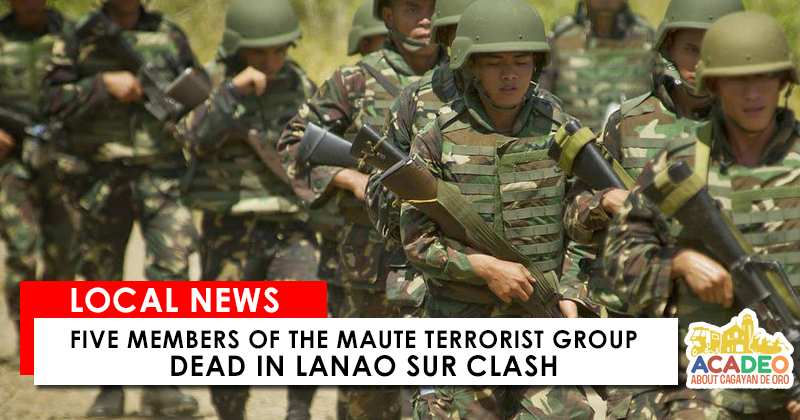 five members of maute dead
