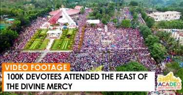 feast of the Divine Mercy, Divine Mercy Shrine, Divine Mercy Shrine El Salvador