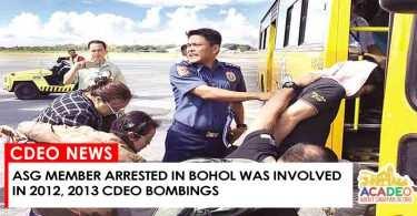 ASG Member arrested in Bohol