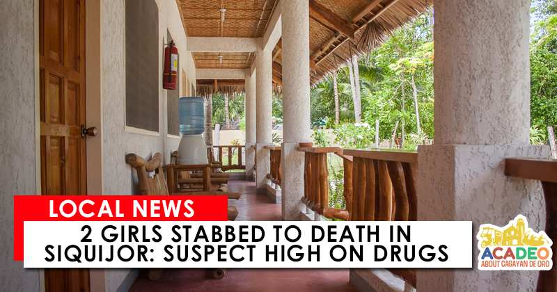 2 Girls Stabbed to Death in Siquijor