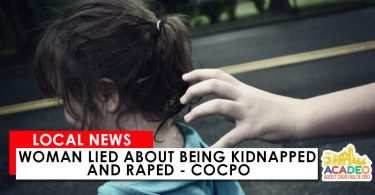 Woman lied about being kidnapped and raped
