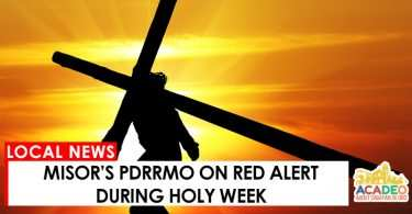 MisOr's PDRRMO on Red Alert during Holy Week