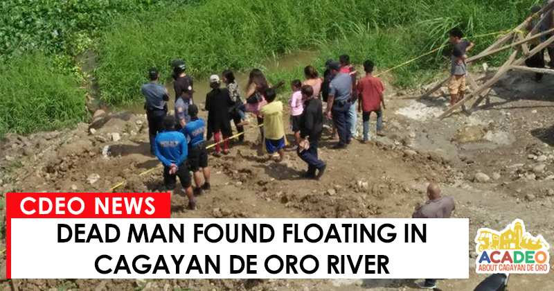dead man floating in oro river