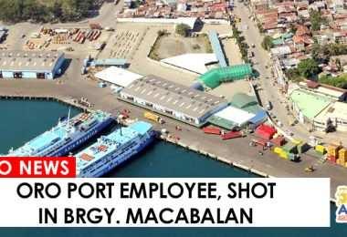 Oro Port Employee shot dead