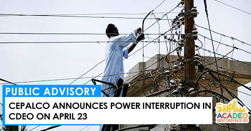 POWER INTERRUPTION