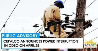 SCHEDULED POWER INTERRUPTION