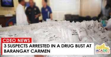 ARRESTED ON DRUG BUY BUST- CARMEN