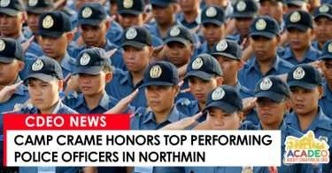 camp crame honors top cops in northmin