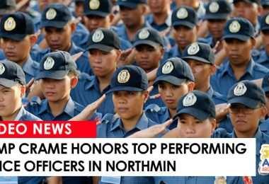 camp crame honors top cops in northmin