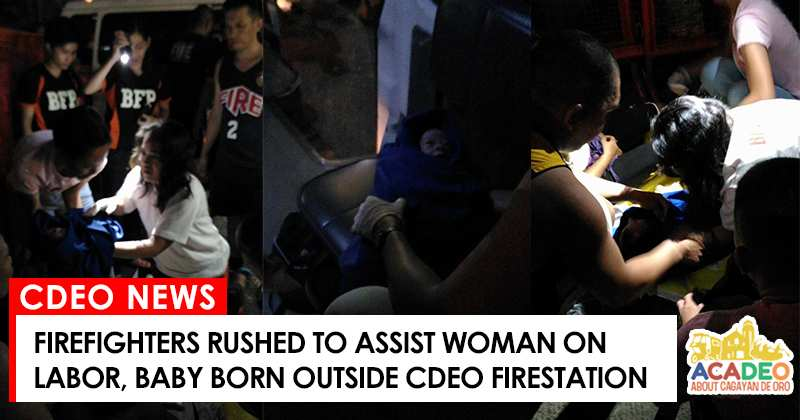 firefighters cdeo baby delivery