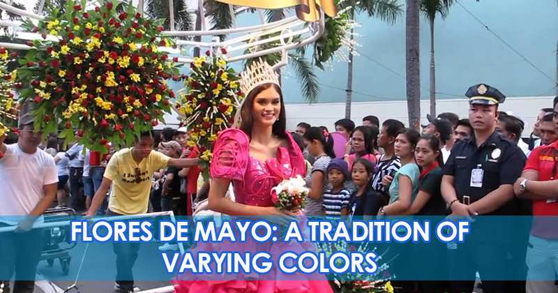 Flores De Mayo: A Tradition Of Varying Colors