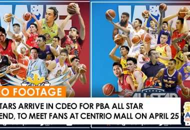 pba allstars, PBA All Star Weekend, basketball game at cdeo