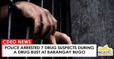 05232017 - 7 DRUG SUSPECTS IN BUGO
