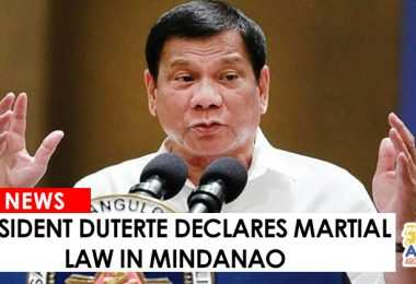 05242017 - PRD MARTIAL LAW IN MINDANAO