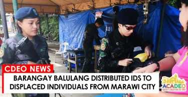 05302017 - BALULANG IDPS