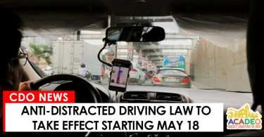 ANTI DISTRACTED DRIVING LAW