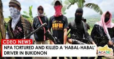 NPA KILLED HABAL-HABAL DRIVER