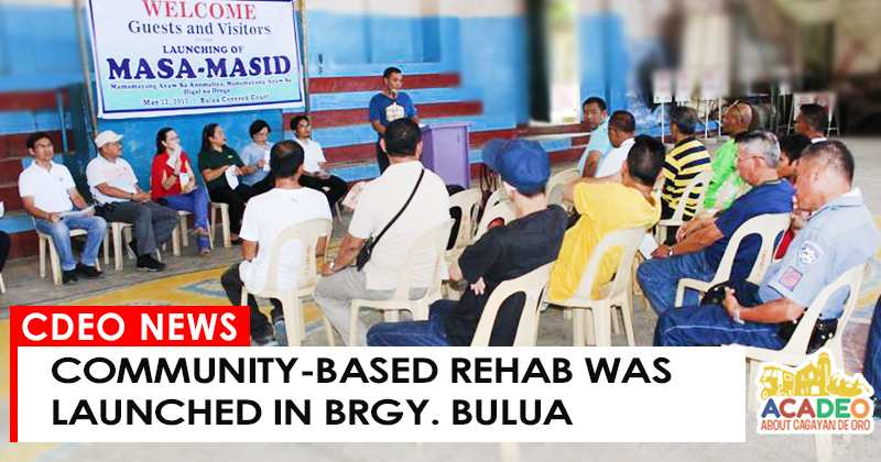 REHAB LAUNCHED IN BULUA