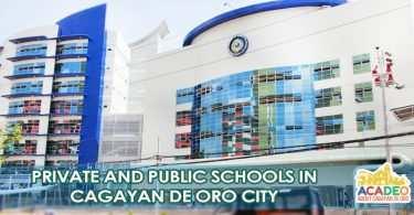SCHOOLS IN CDEO