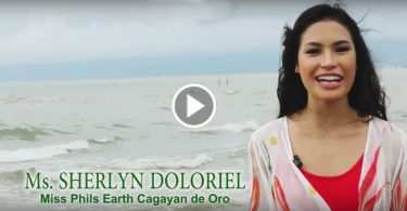 Sherlyn Doloriel in Miss Philippines Earth Pageant