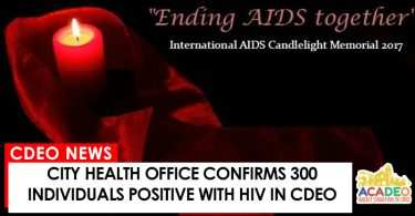 hiv cases in cdeo