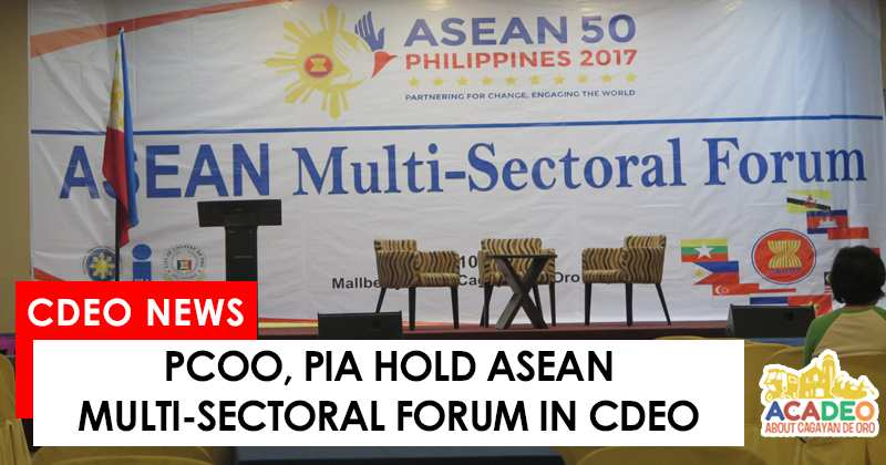 ASEAN Forum held in CDEO