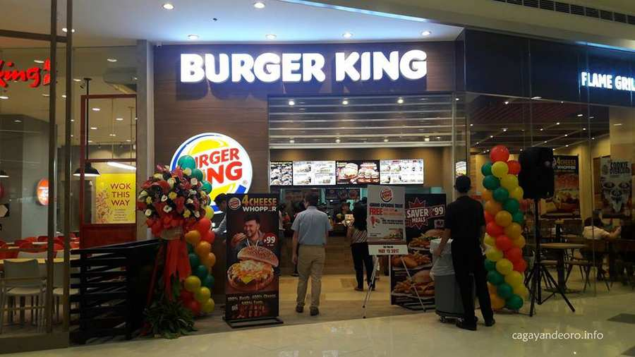 Burger King at SM CDEO Downtown Premier
