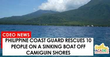 Sinking boat in Camiguin