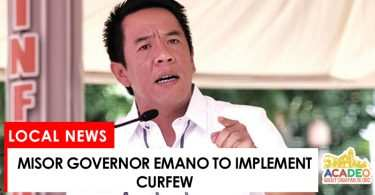 gov emano to implement curfew