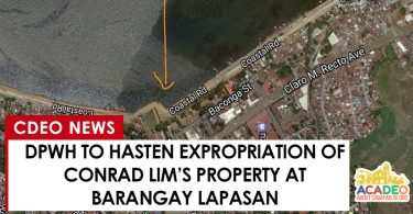 DPWH to hasten expropriation of conrad lim's property