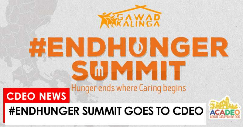 #endhunger in cdeo