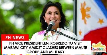 leni to visit marawi city