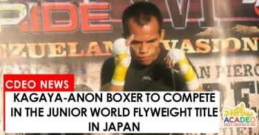 Melindo fights in Japan