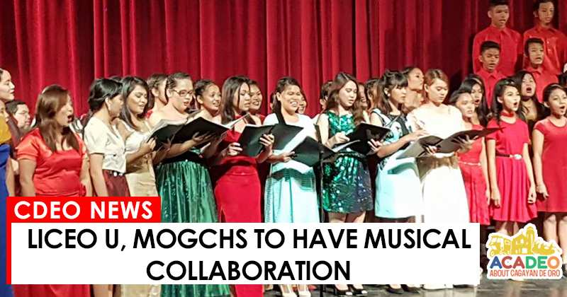 liceo u and mogchs musical collaboration, musical collaboration in cdeo