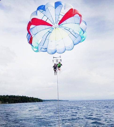 parasailing blu sands