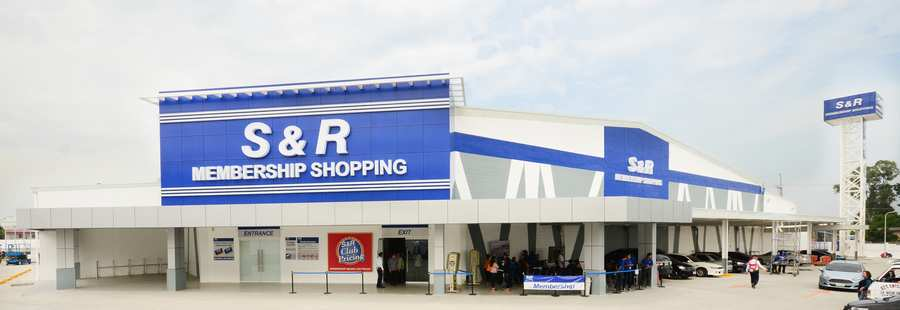 S and R Membership Shopping