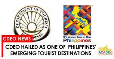 cdeo as one emerging tourist destinations
