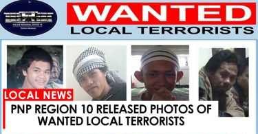 wanted terrorist