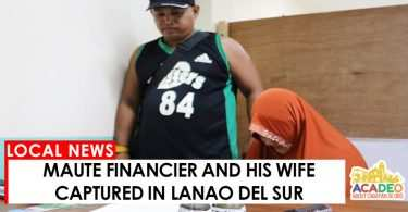 06092017 - MAUTE FINANCER AND WIFE ARRESTED