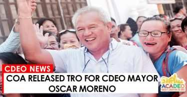 06282017 - COA RELEASED TRO FOR MAYOR