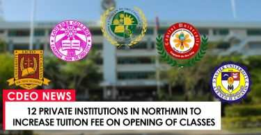 12 institutions increase tuition fee