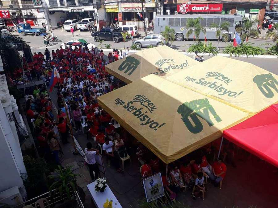 Mayor Moreno Supporters